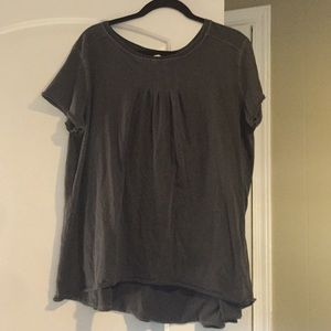 Free people grey top